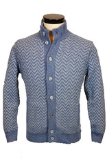 Gran Sasso Sandmore's cardigan blauw 23903