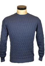 Gran Sasso Sandmore's pull O-hals donkerblauw 14281