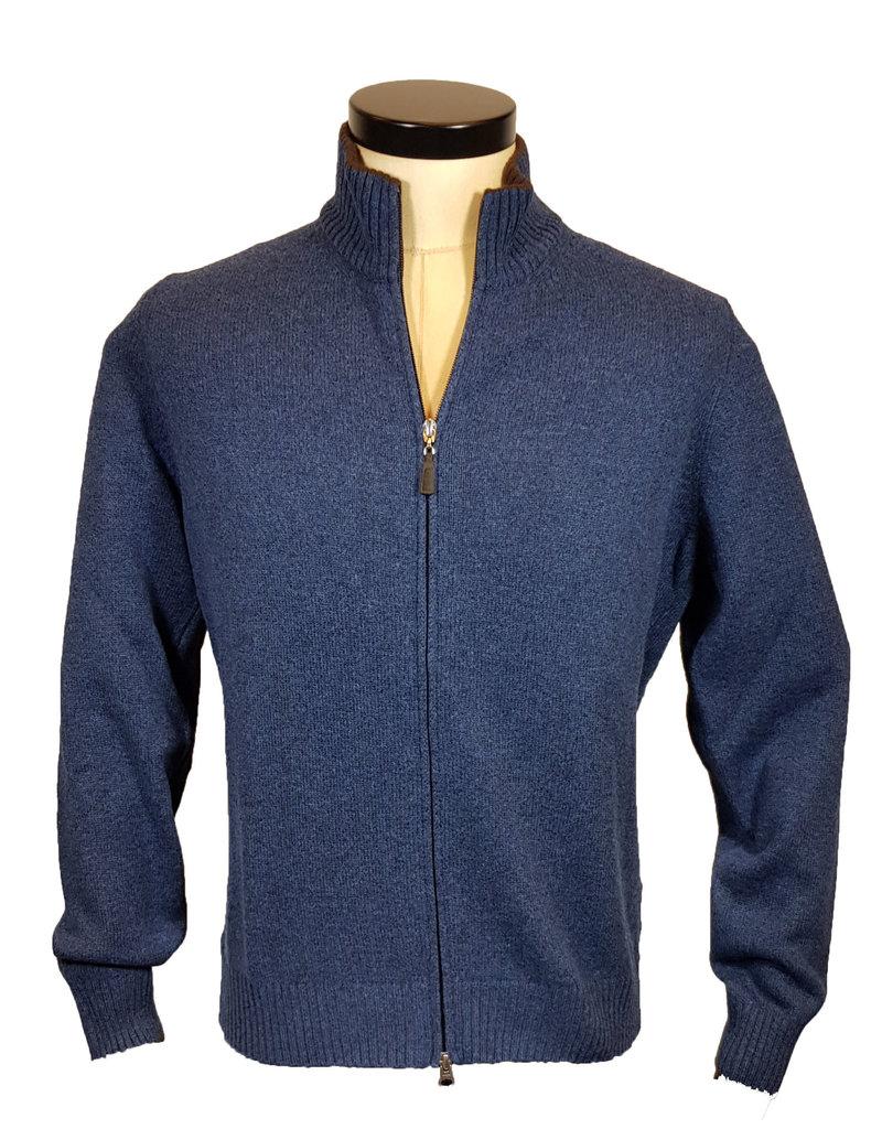 Gran Sasso Sandmore's cardigan blauw 19667