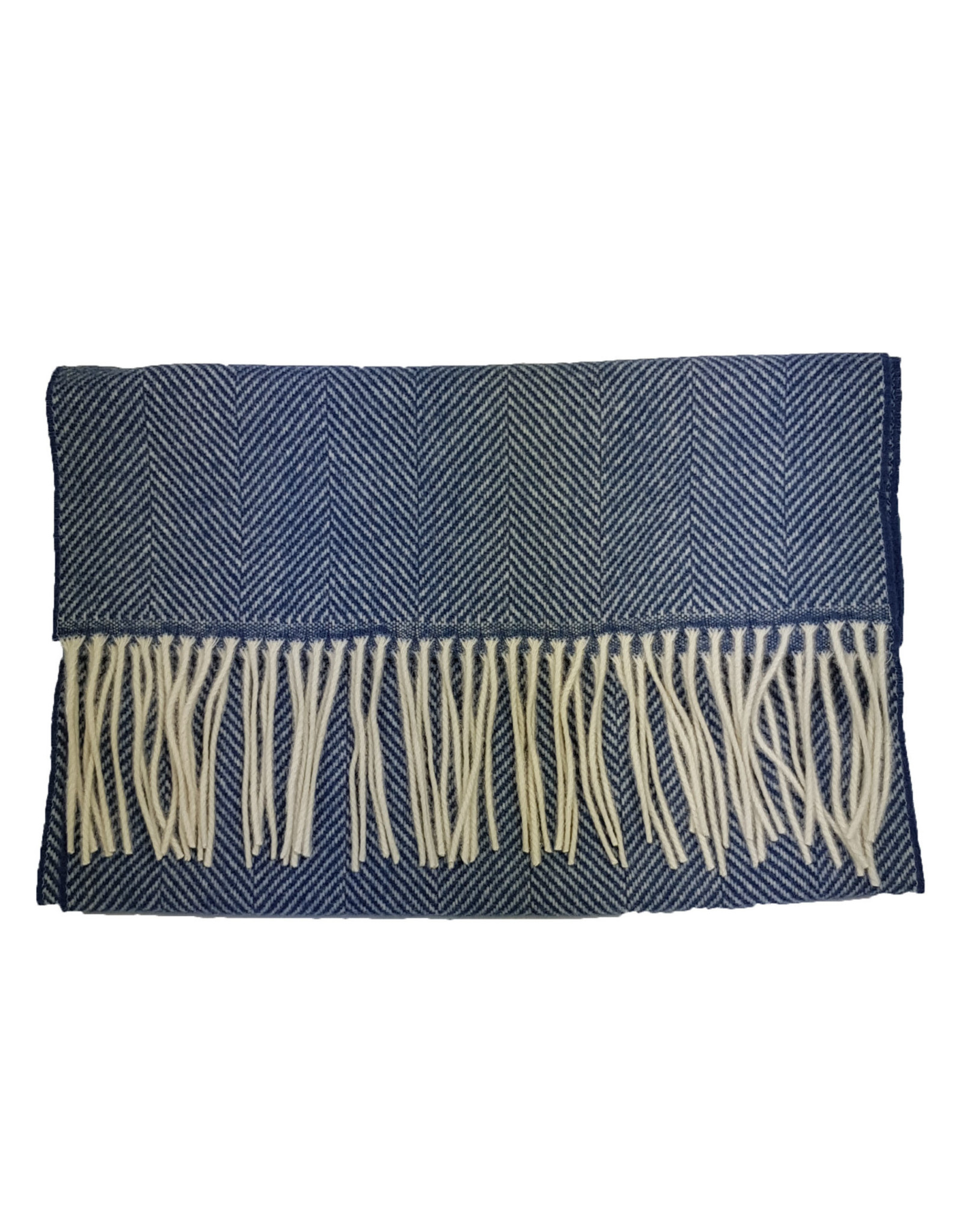 MA.AL.Bi MA.AL.BI sjaal blauw 136-90