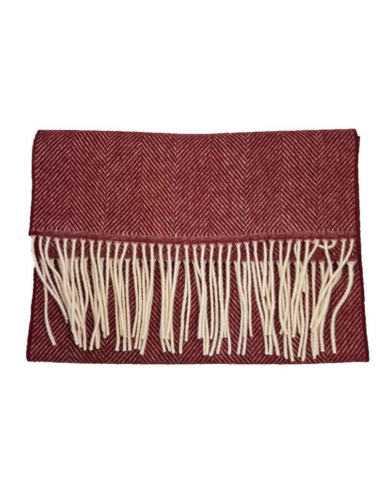 MA.AL.Bi MA.AL.BI sjaal bordeaux 136-90