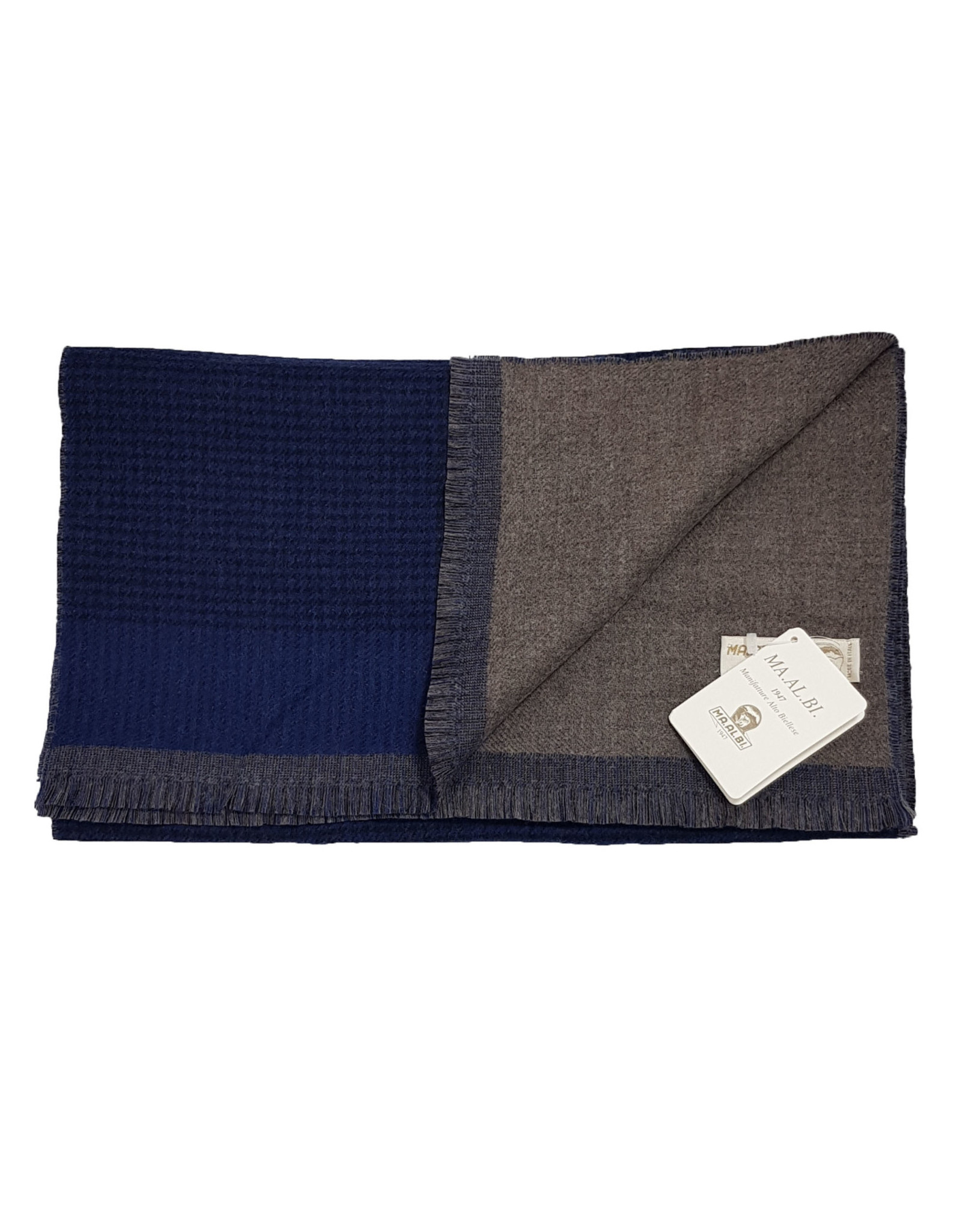 MA.AL.Bi MA.AL.BI sjaal blauw 562-11