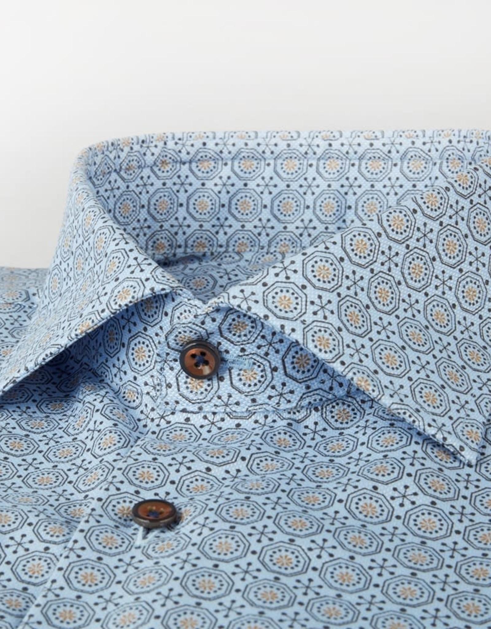 Stenströms Stenströms hemd blauw slimfit 712751-7159/271