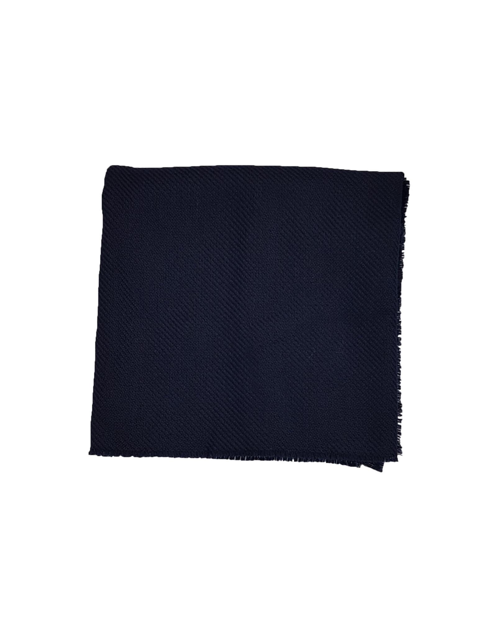 MA.AL.Bi MA.AL.BI sjaal donkerblauw 140-60