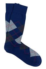 Marcoliani Marcoliani sokken blauw katoen 4333T