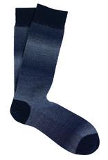 Marcoliani Marcoliani sokken blauw wol-katoen 4321T