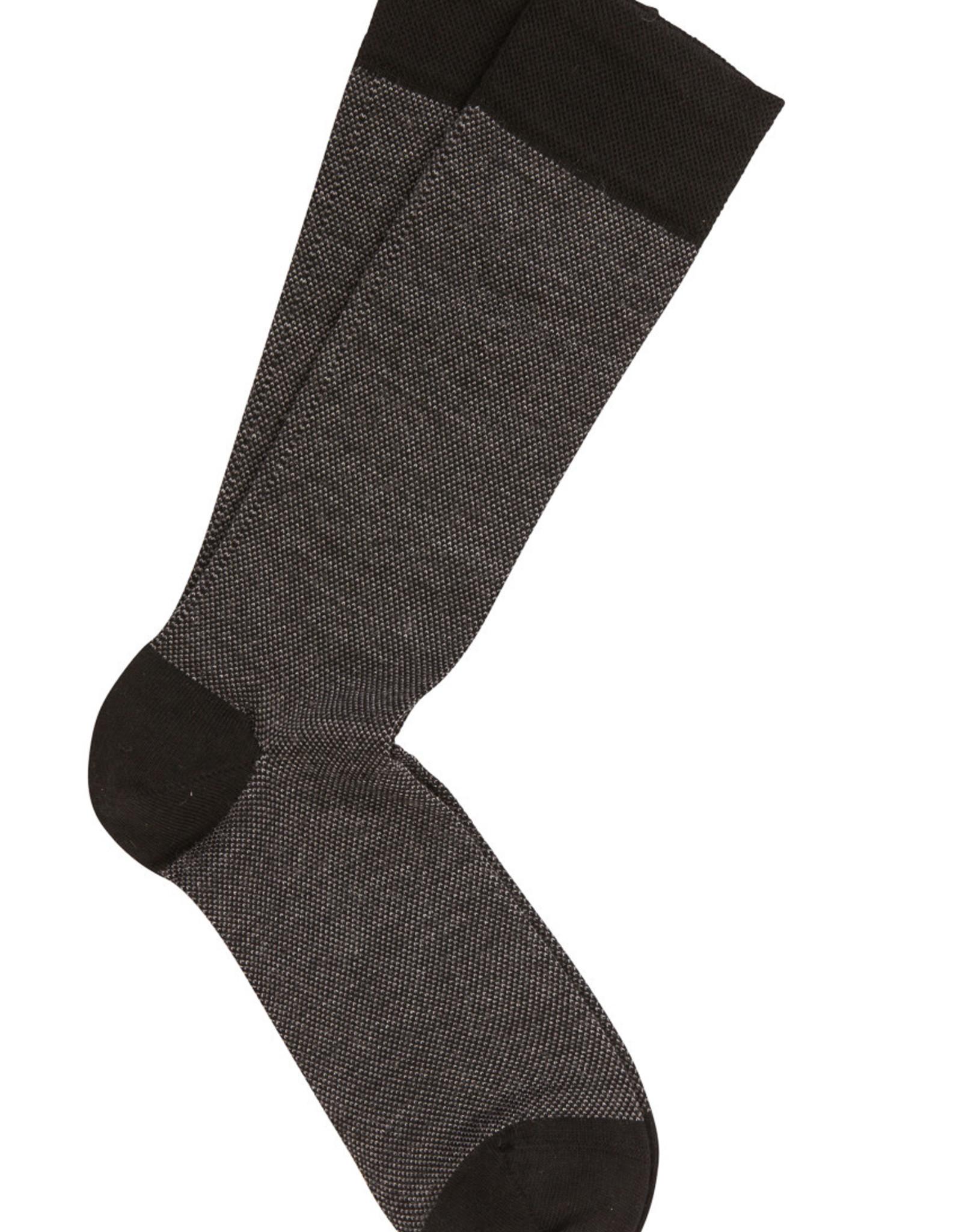 Marcoliani Marcoliani sokken zwart wol 4060T