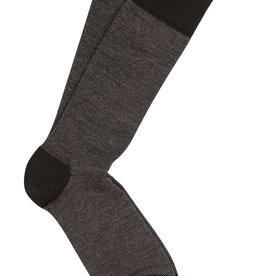 Marcoliani Marcoliani sokken zwart birdseye