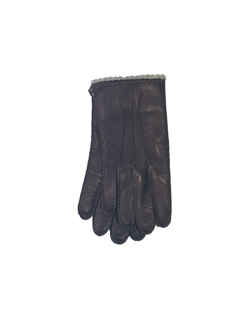 Mazzoleni Mazzoleni handschoenen leder blauw 904/25