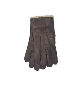 Mazzoleni Mazzoleni handschoenen leder bruin