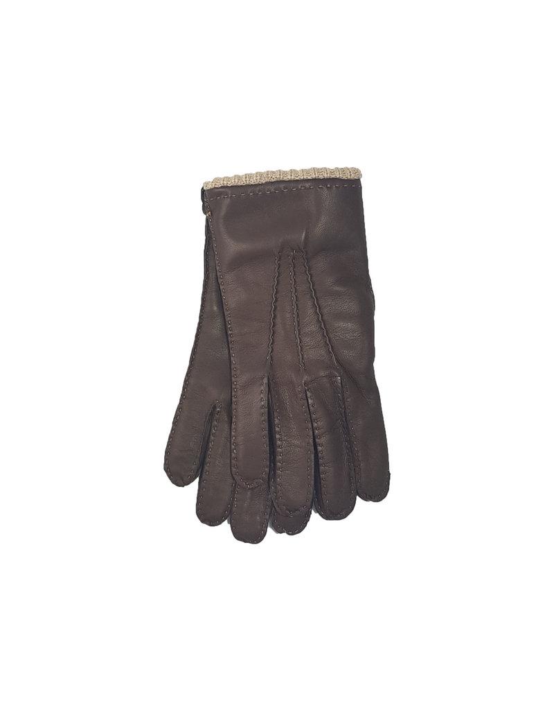 Mazzoleni Mazzoleni handschoenen leder bruin 904/12