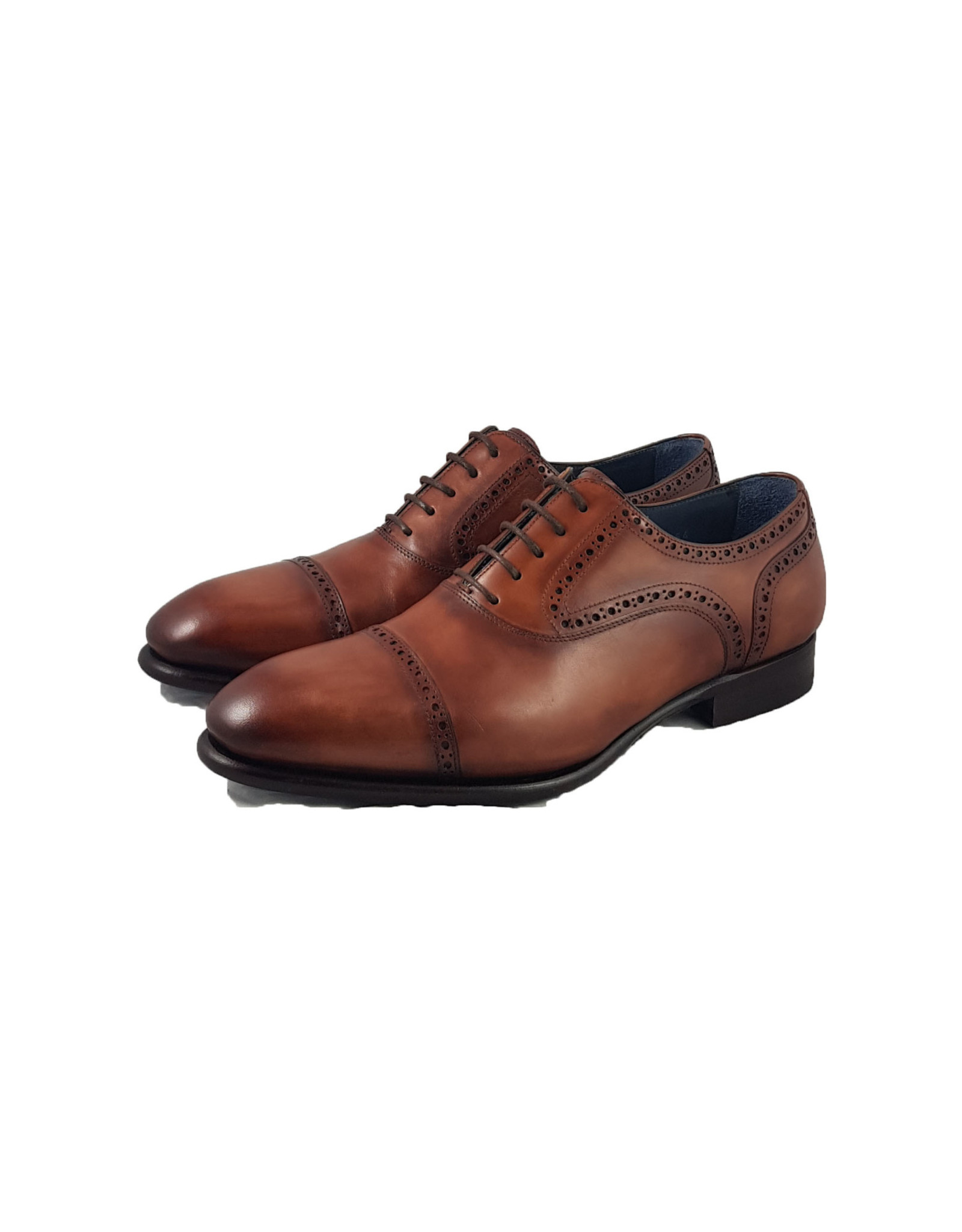 Zampiere Zampiere schoenen cognac Amalfi M: 9894 V17/35