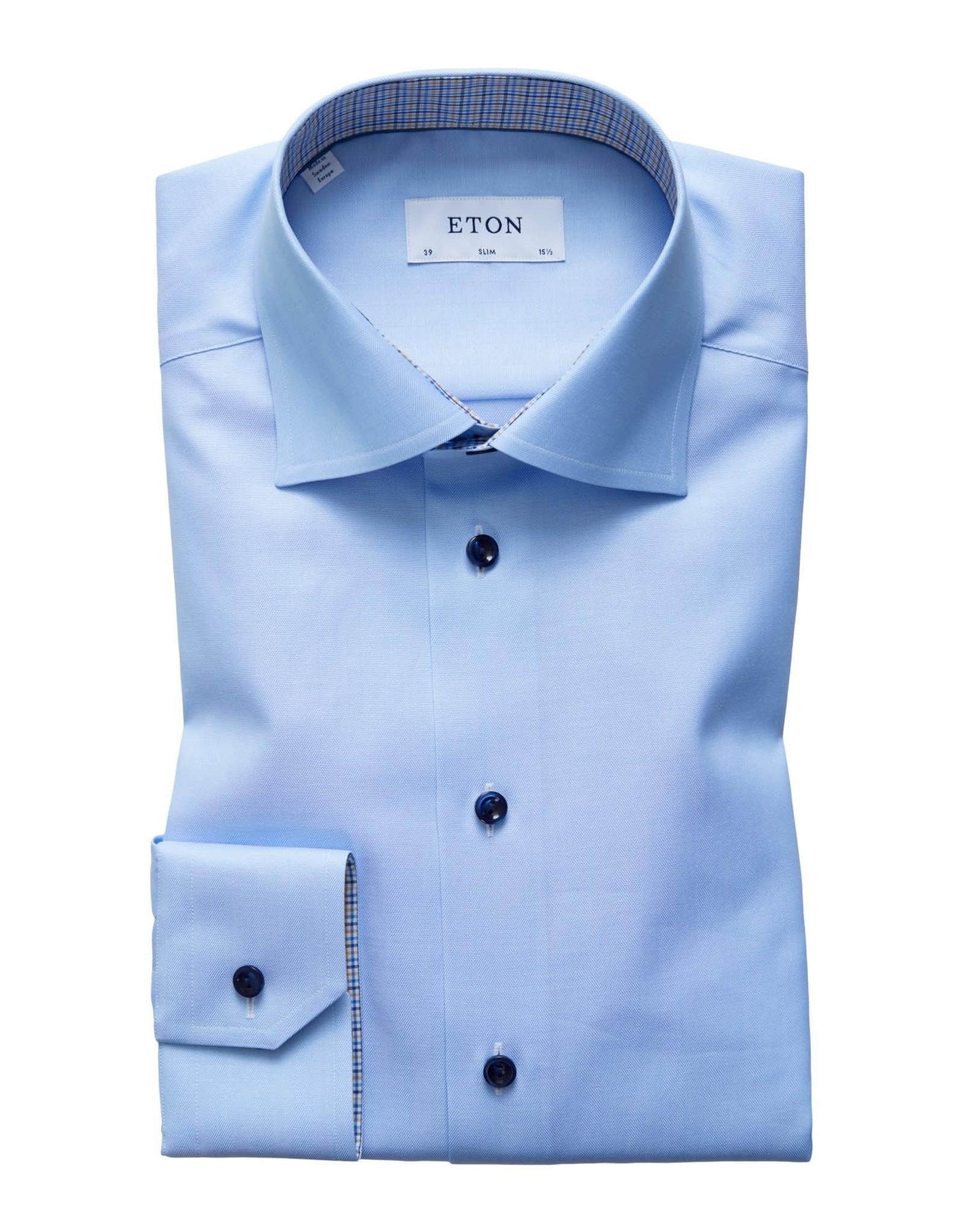 Eton Eton hemd blauw slim 3010-00561/22