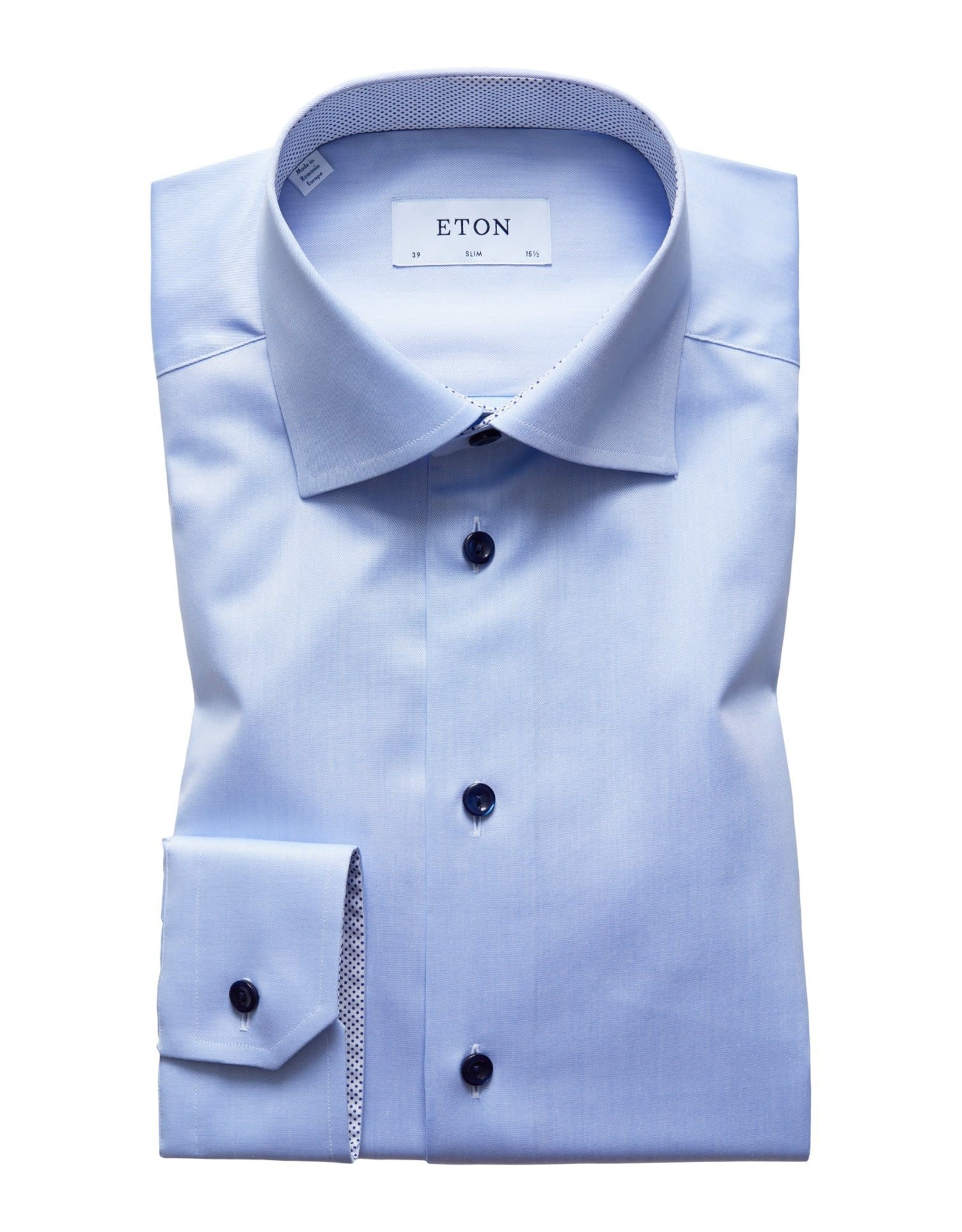 Eton Eton hemd blauw contemporary  3000-00361/21