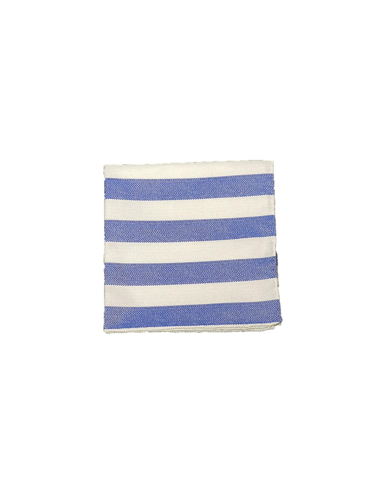 Ascot Sandmore's pochet blauw gestreept 375/2