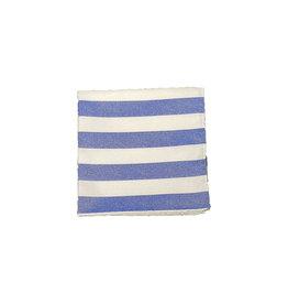 Ascot Sandmore's pochet blauw gestreept