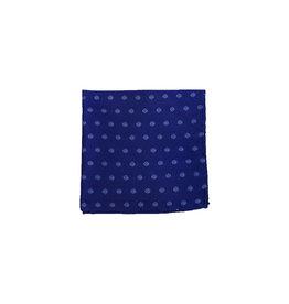 Ascot Sandmore's pochet blauw met bloemetjes