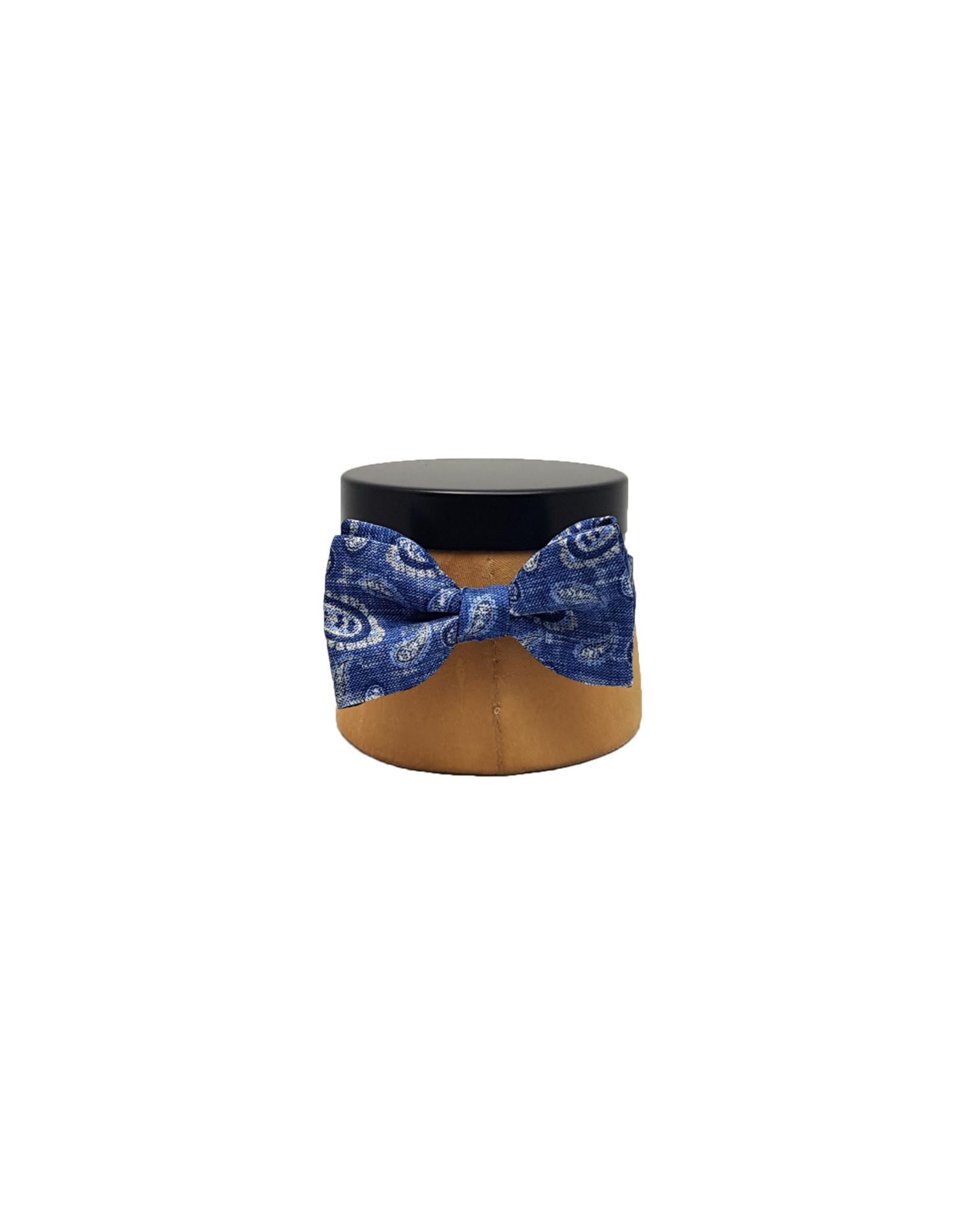 Ascot Sandmore's strik blauw paisley Berlin