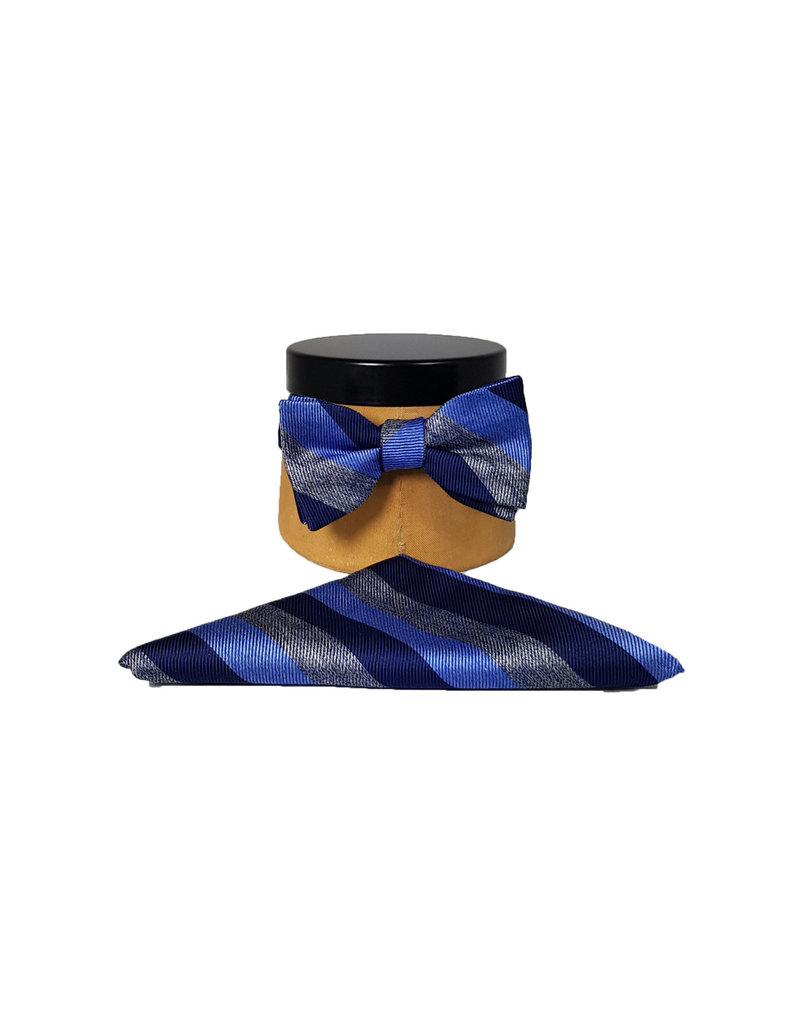 Ascot Sandmore's strik blauw streepje 736/2