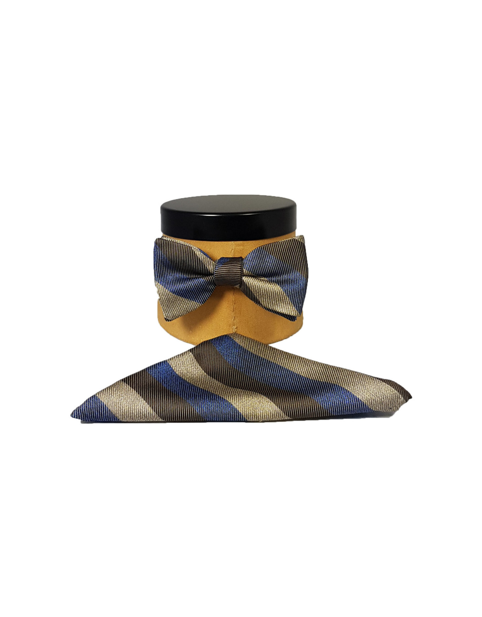 Ascot Sandmore's strik bruin-blauw streepje 738/2