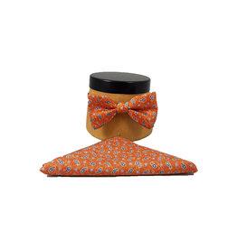 Ascot Sandmore's strik met pochet oranje