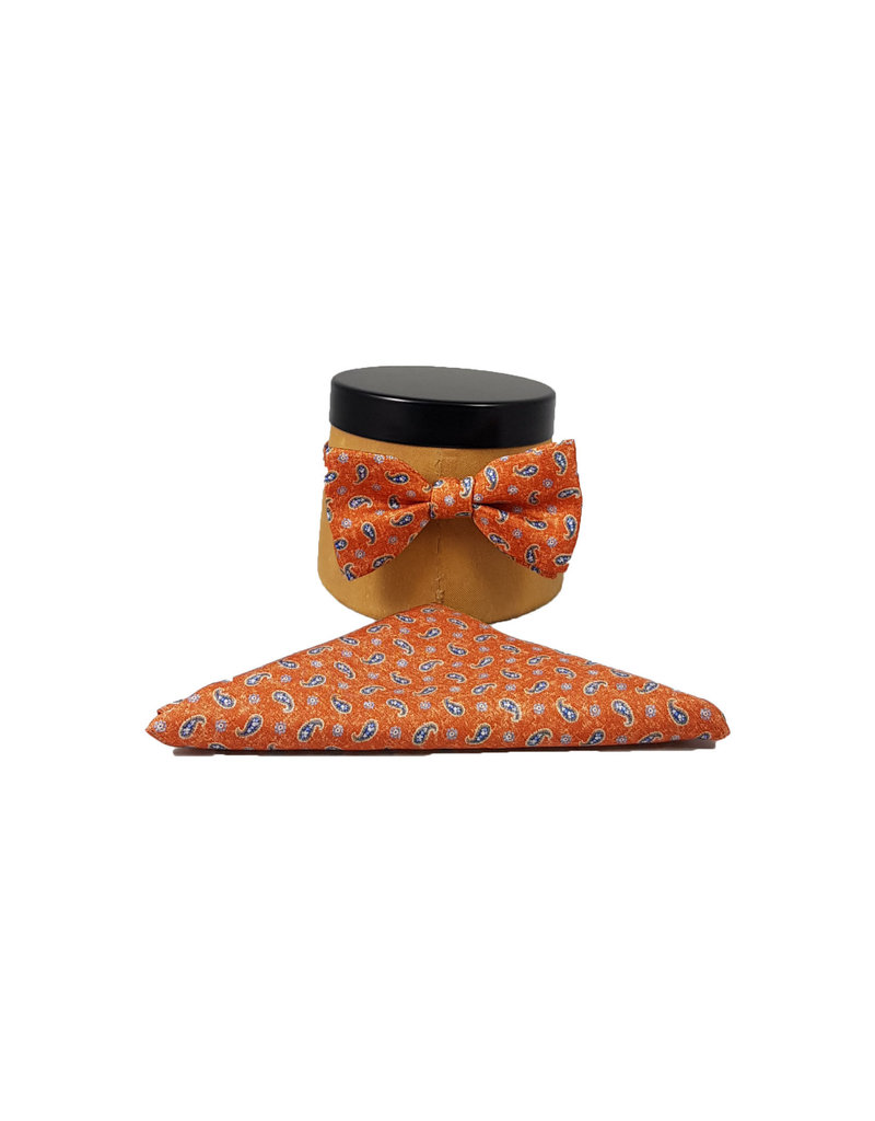 Ascot Sandmore's strik oranje paisley 490/3