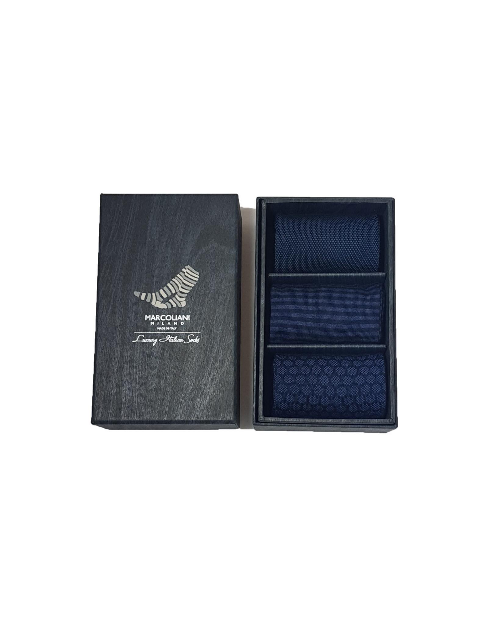 Marcoliani Marcoliani sokken box U3 MIX1 41-45