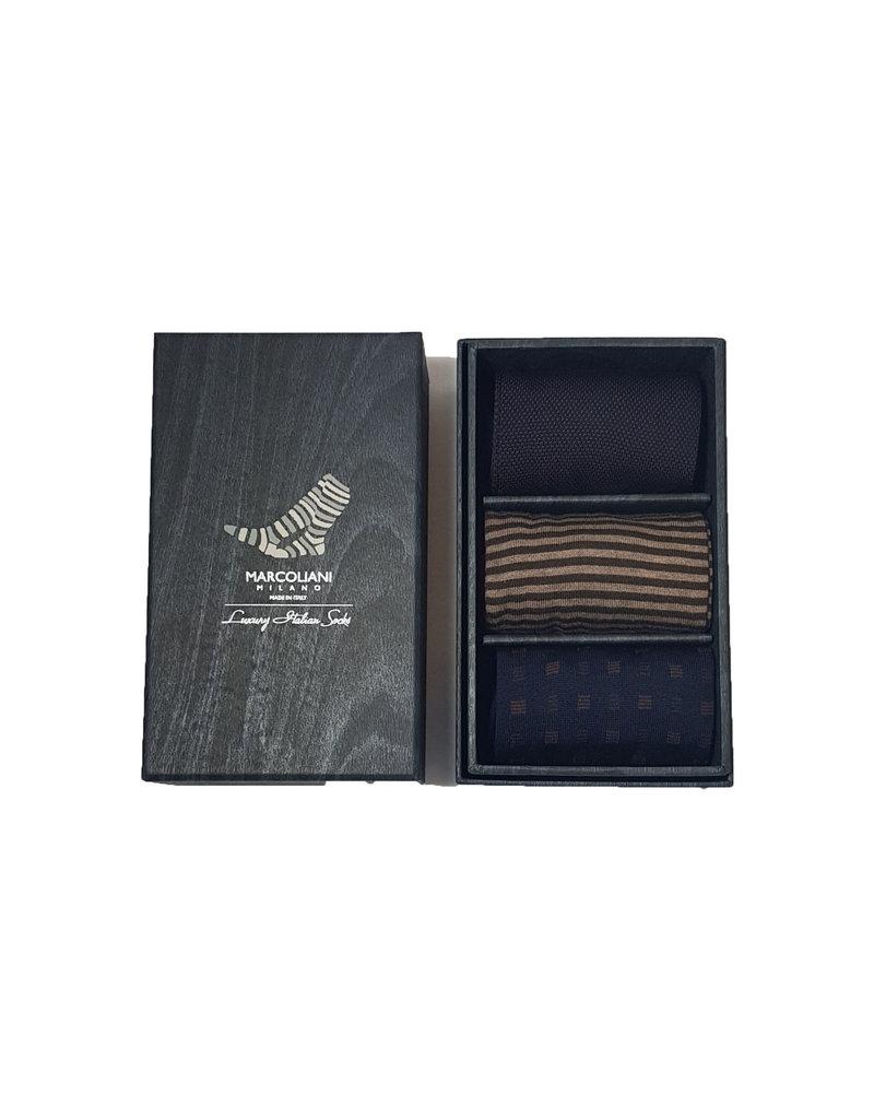 Marcoliani Marcoliani sokken box U3 MIX2 41-45