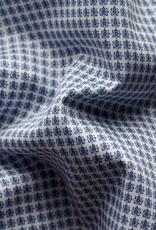 Eton Eton hemd blauw bloemetjesmotief classic 1043