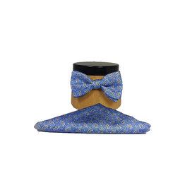 Ascot Sandmore's strik lichtblauw paisley