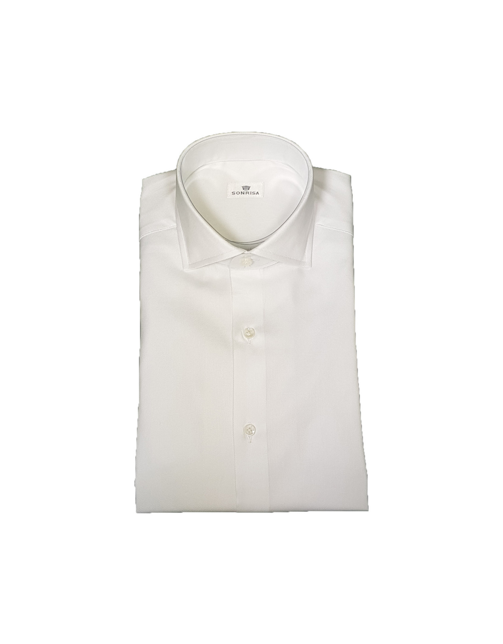 Sonrisa Sonrisa hemd wit Fitted body V3003/01