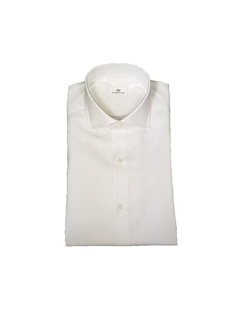 Sonrisa Sonrisa hemd wit contemporary V3003/01