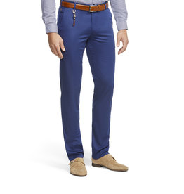 Meyer Exclusive Meyer Exclusive broek katoen blauw