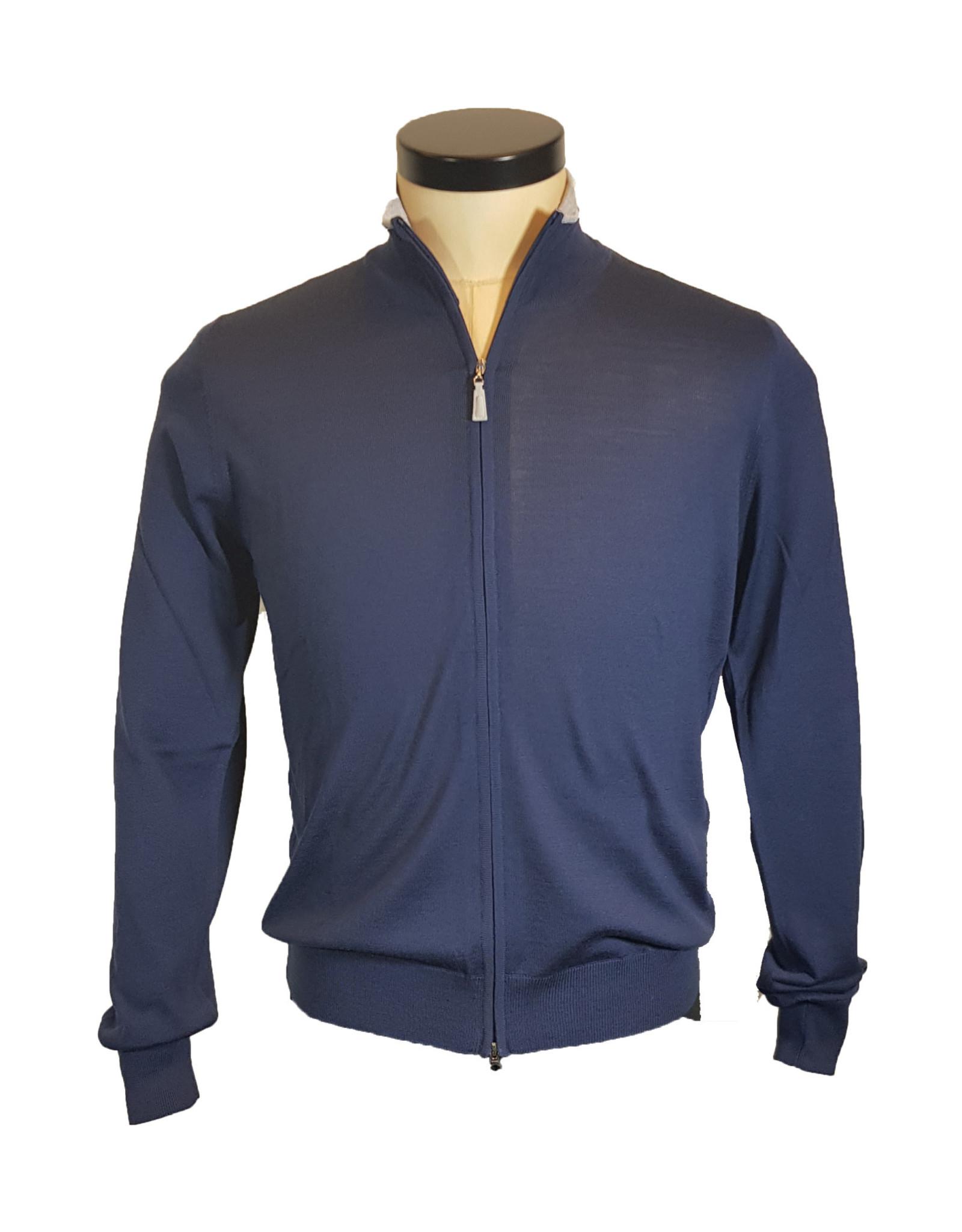 Gran Sasso Sandmore's cardigan blauw 14794/583 M:45144