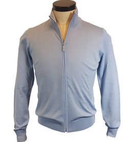 Gran Sasso Sandmore's cardigan lichtblauw