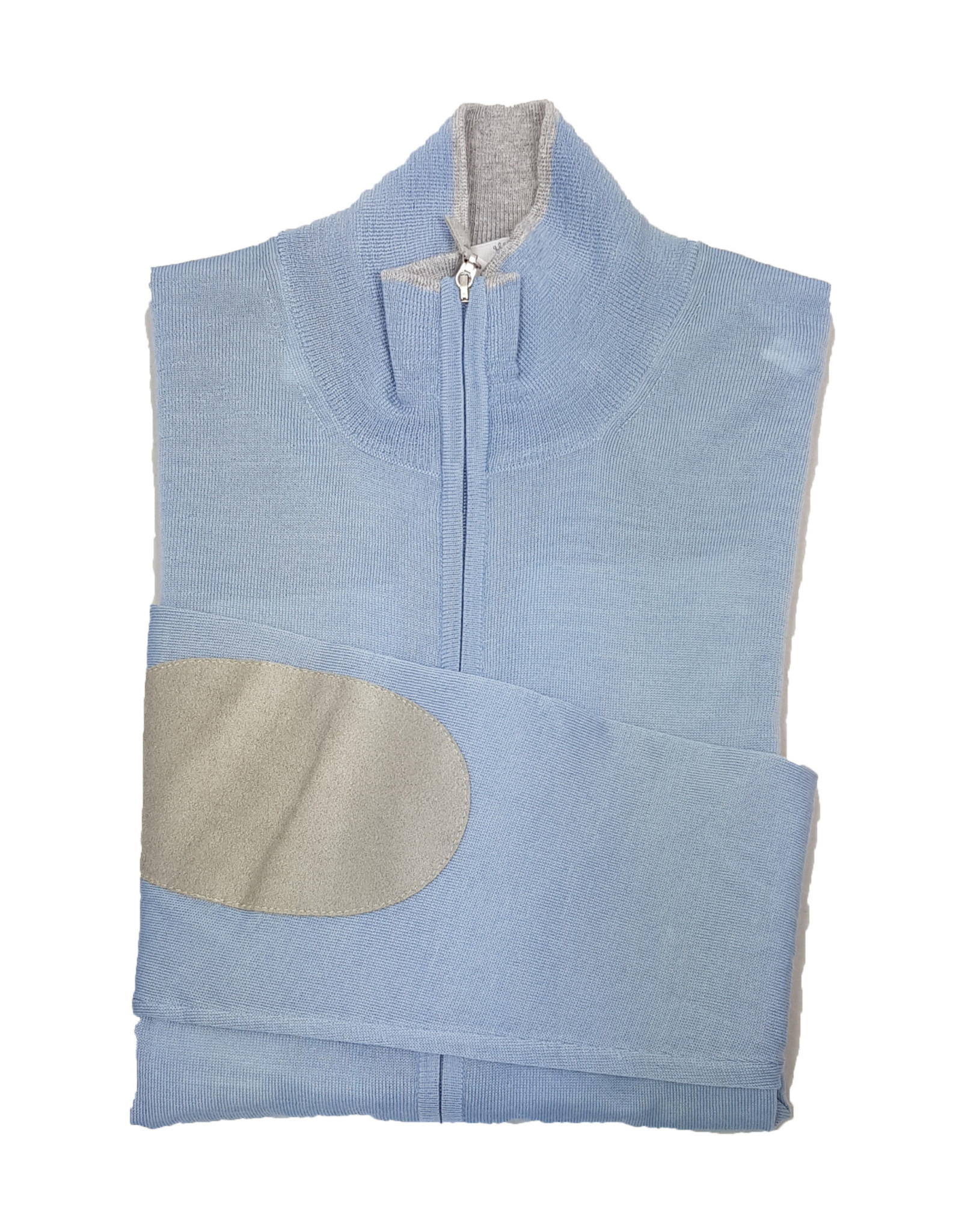 Gran Sasso Sandmore's cardigan lichtblauw 14794/512 M:45144