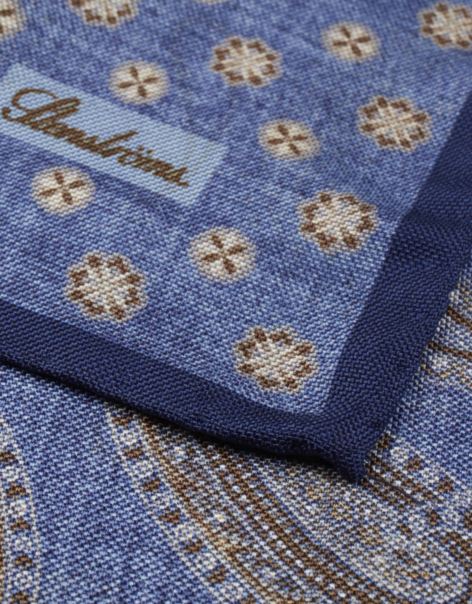 Stenströms Stenströms pochet blauw 923180/2