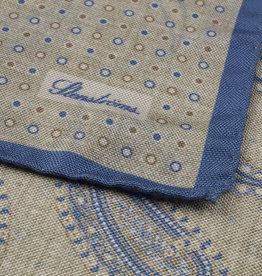 Stenströms Stenströms pochet beige-blauw