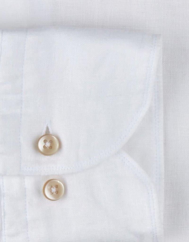 Stenströms Stenströms hemd linnen wit slimline 775221-7970/000