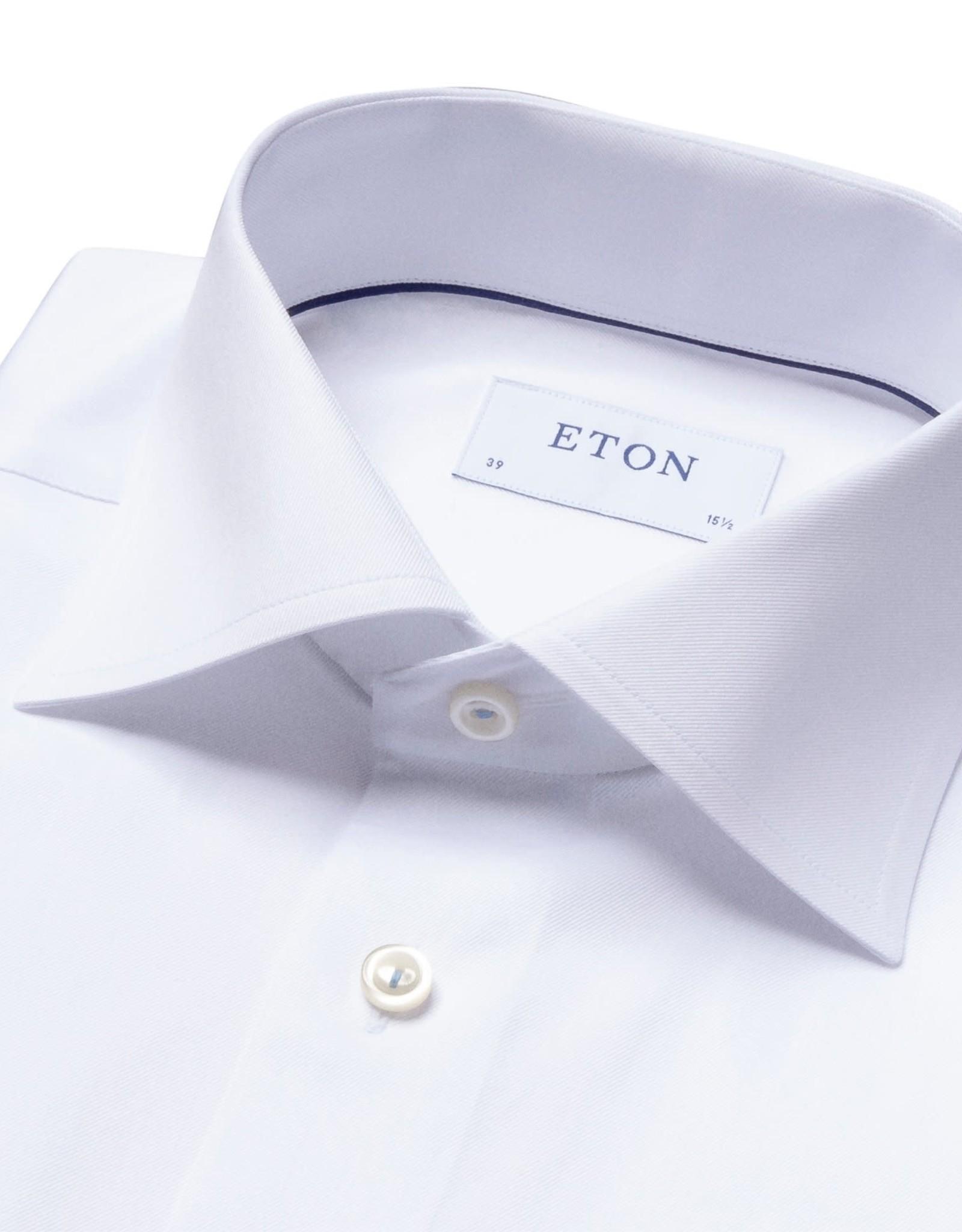 Eton Eton hemd wit classic 1051/01