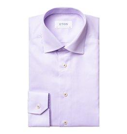 Eton Eton hemd lila slim fit