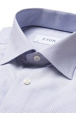 Eton Eton hemd wit-blauw slim fit 761/29