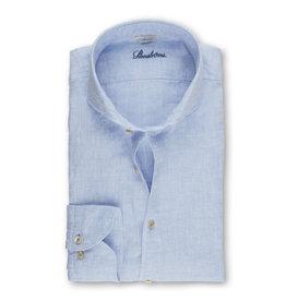 Stenströms Stenströms hemd linnen lichtblauw Slimline