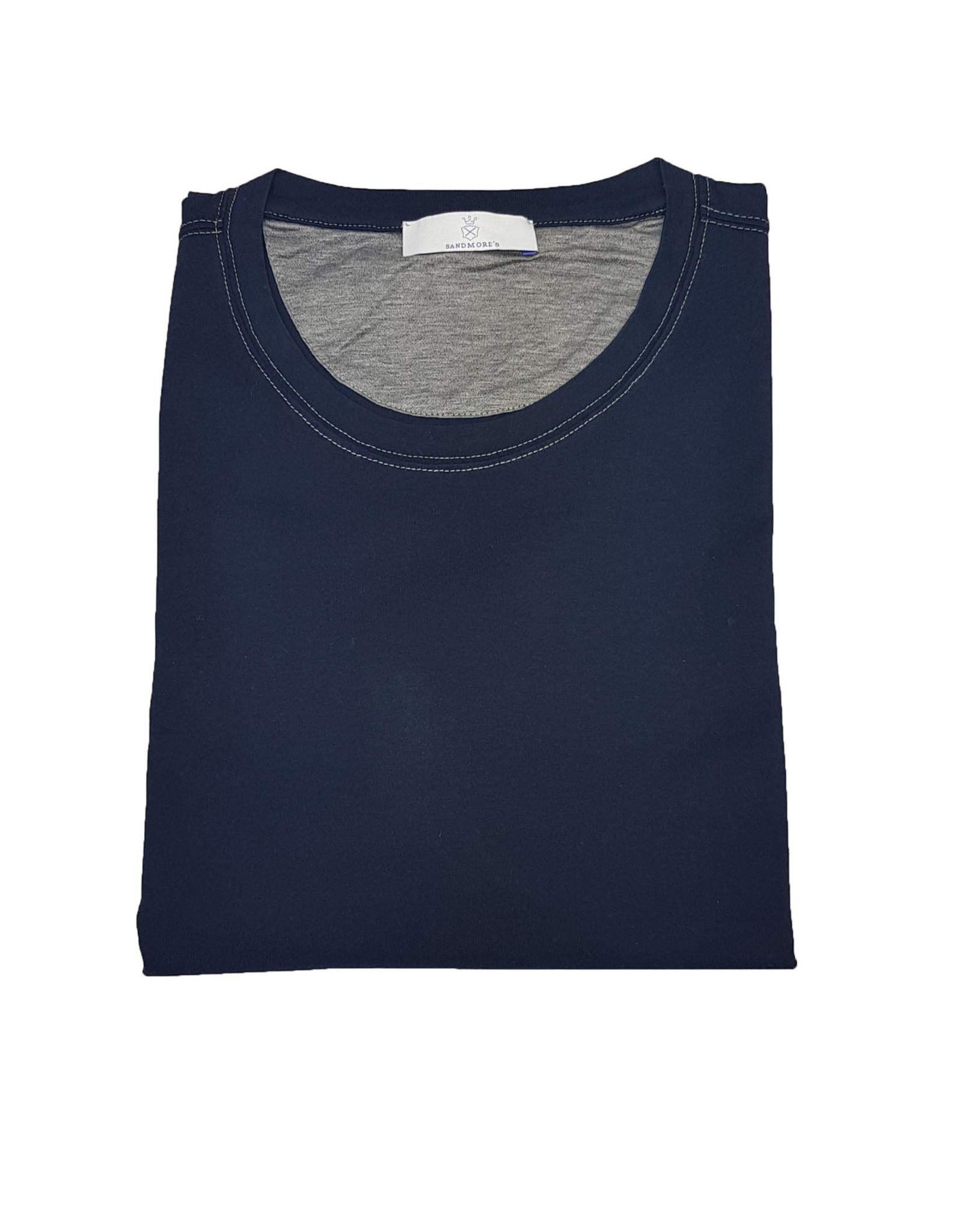 Gran Sasso Sandmore's t-shirt marine 73727/590 M:60138