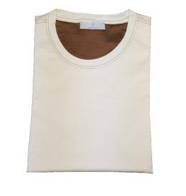 Gran Sasso Sandmore's t-shirt ecru