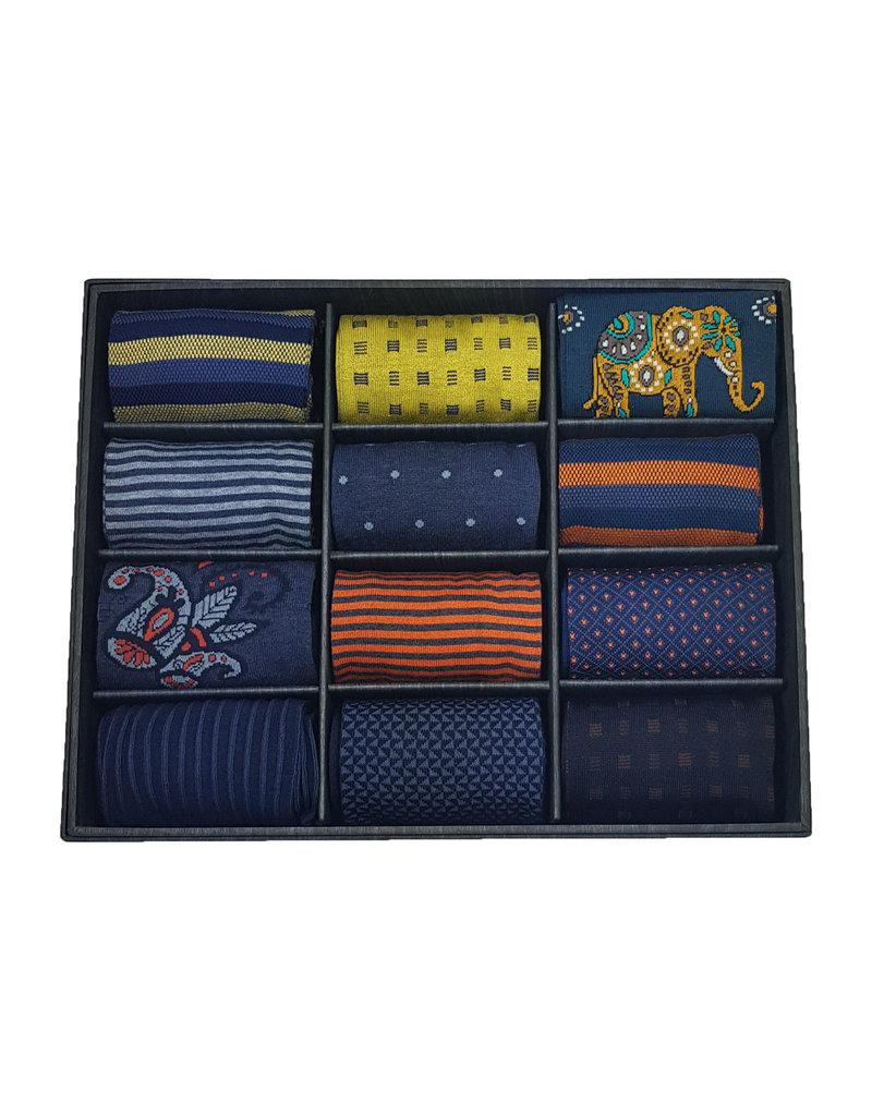 Marcoliani Marcoliani sokken box DZ MIXED 41-45