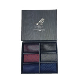 Marcoliani Marcoliani sokken gift box 6 paar