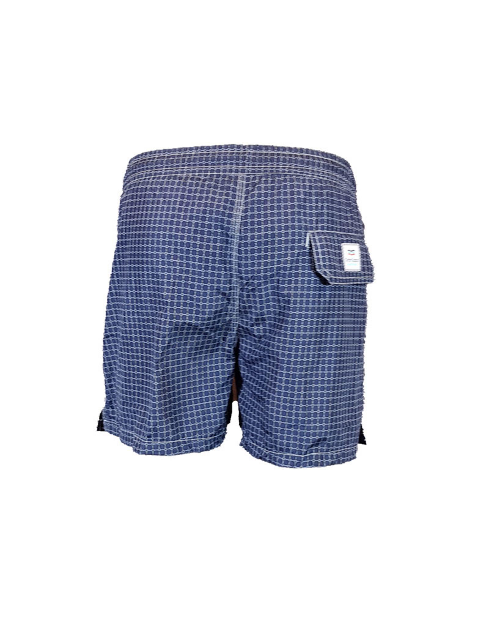 Gran Sasso Gran Sasso zwembroek blauw motief 52200/931 M:90101