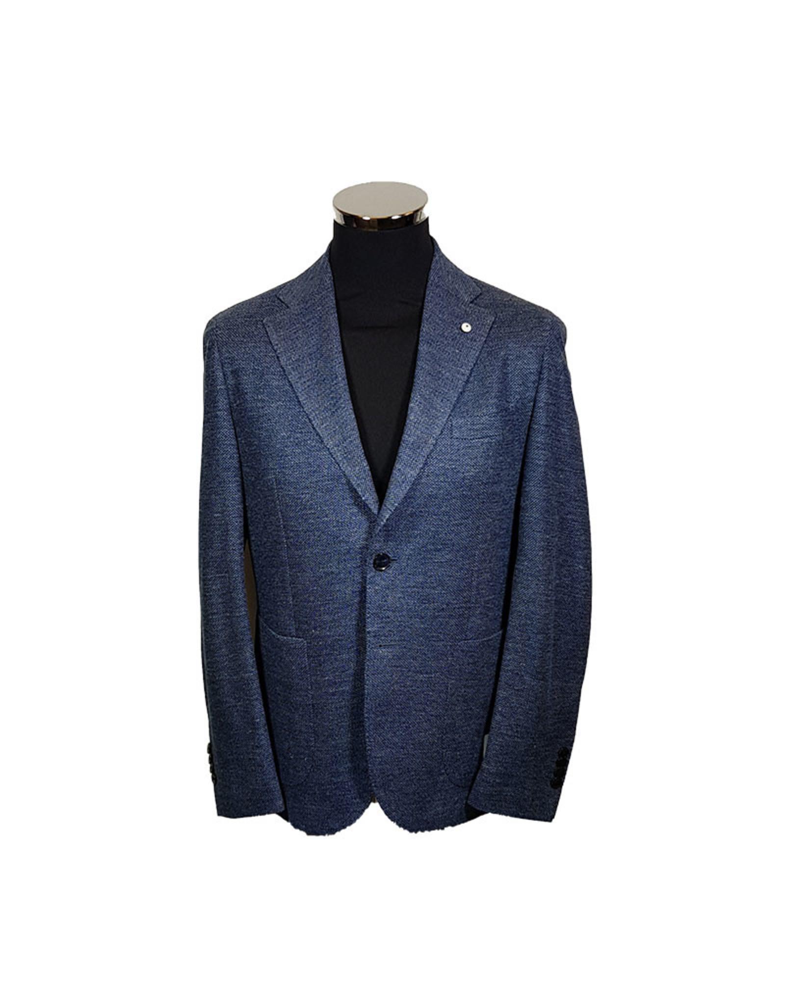 Lubiam Lubiam vest blauw 05758/3