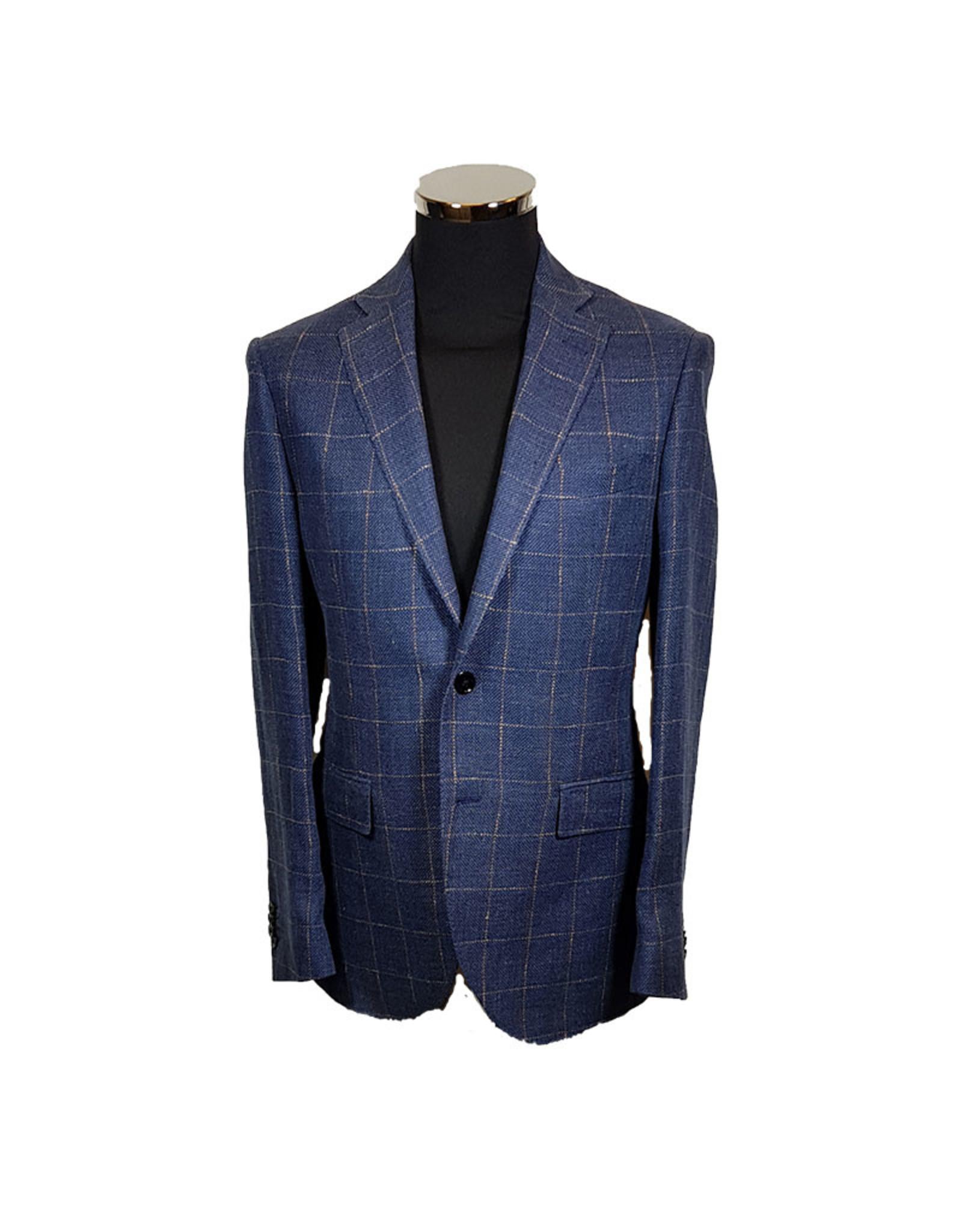 Lubiam Lubiam vest blauw 2750/1